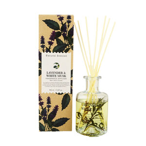 Natural Craft Lavender & White Musk Reed Diffuser