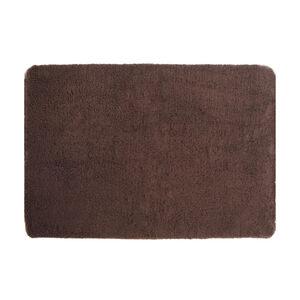 Brown Bobble Fleece Memory Foam Pet Bed