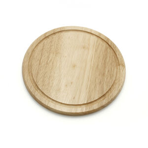 Rubberwood Bread Board Round