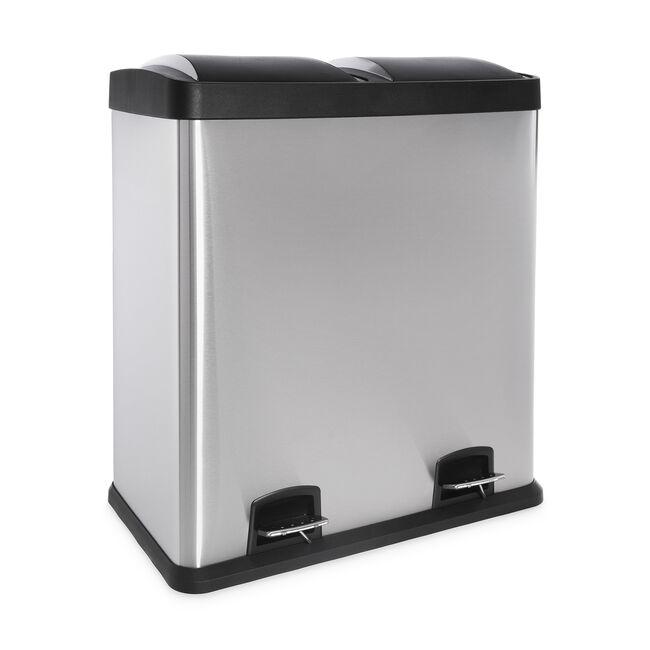 Double Recycling Bin 60L