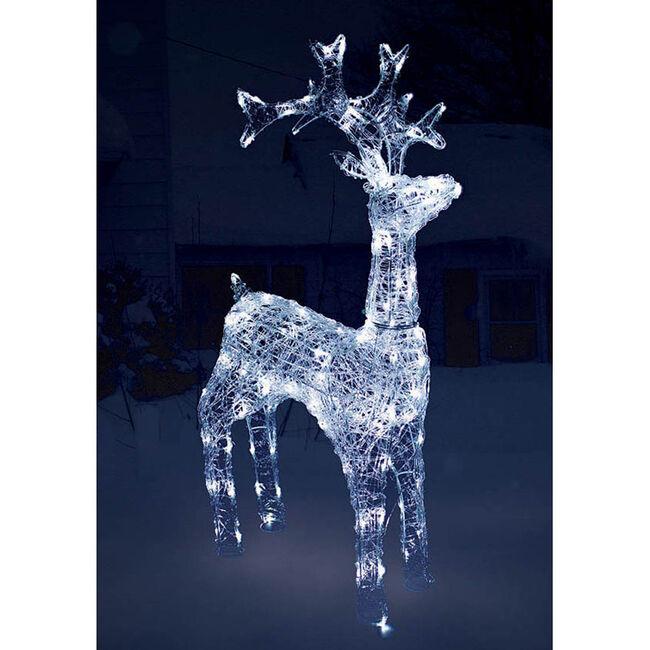 120 LED Acrylic Reindeer