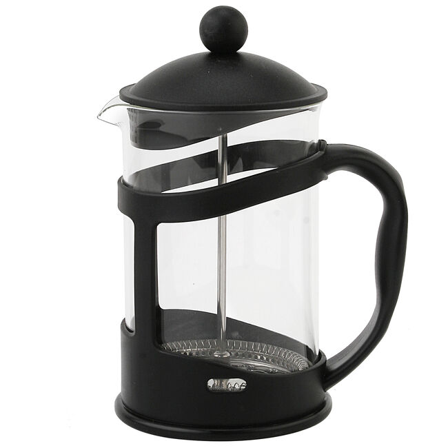 Glona Glass Cafetiere 800ml - Black