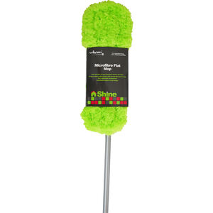 Extending Microfibre Feather Flat Mop