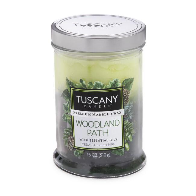 Tuscany Triple Pour Candle Woodland Path