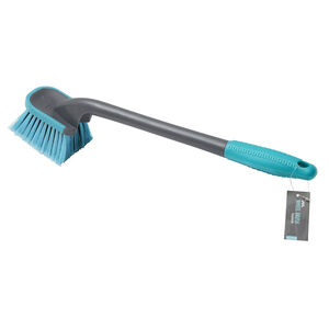 JVL Long Handle Wheel Brush