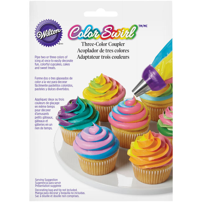 Wilton Color Swirl 3 Colour Coupler
