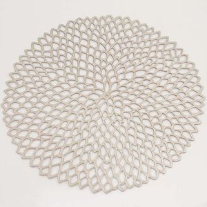 Petals Silver Placemat