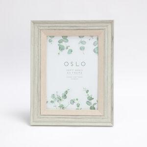 Oslo Soft Grey Frame A4