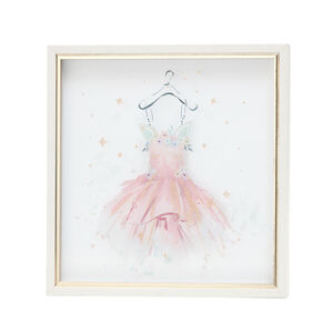 Unicorn Gown Print Framed 33X33cm