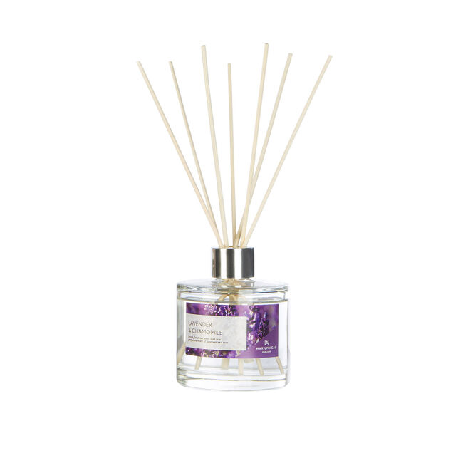 Modern Floral Lavender & Chamomile Reed Diffuser