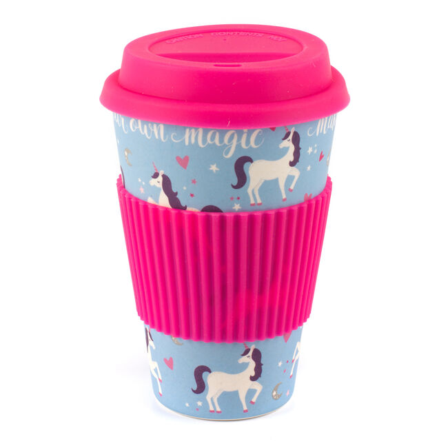 Magic Unicorn Bamboo Sippy Mug