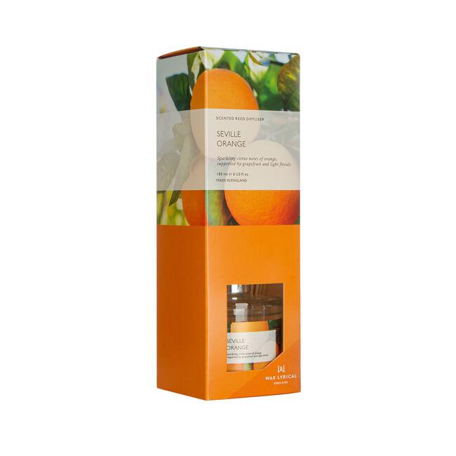 Modern Floral Seville Orange Reed Diffuser