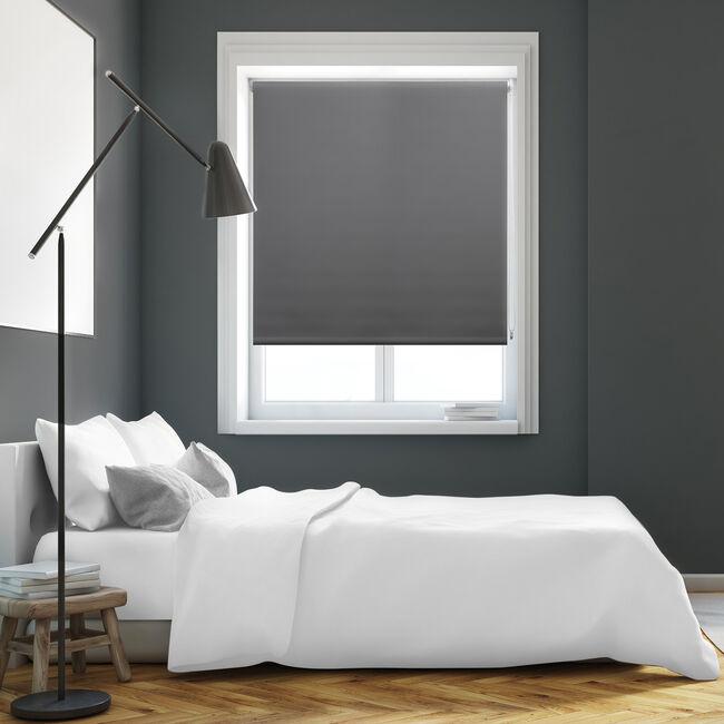 BAILEY & COLE 120x160cm Roller Blind Grey