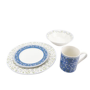 Forget Me Not 16 Piece Dinner Set