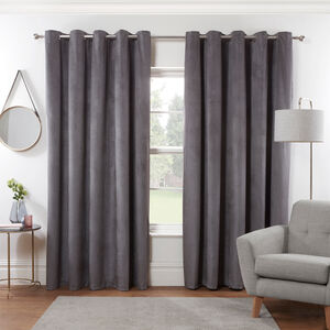 DIAMOND GREY 66X54 Curtain