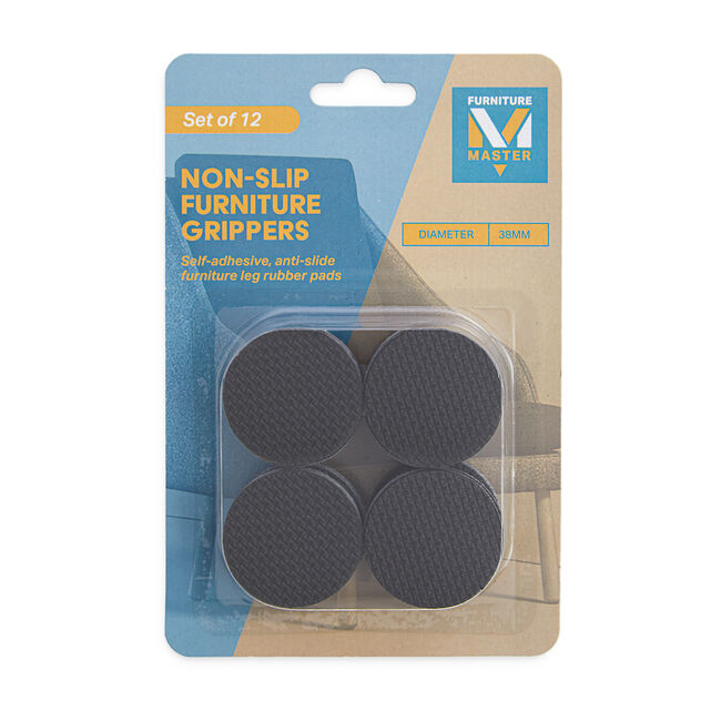 Non-Slip Furniture Grippers 12 Pack