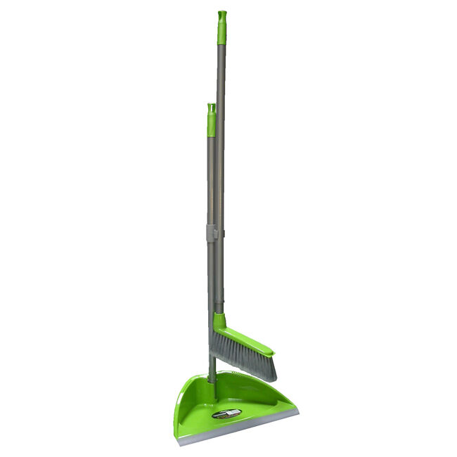 Shine Long Handled Dustpan and Brush Set
