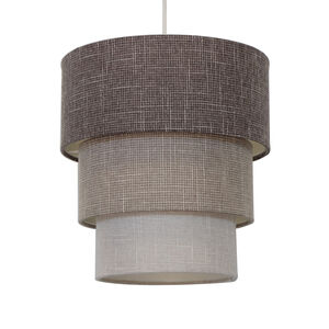Three Tier Linen Shade