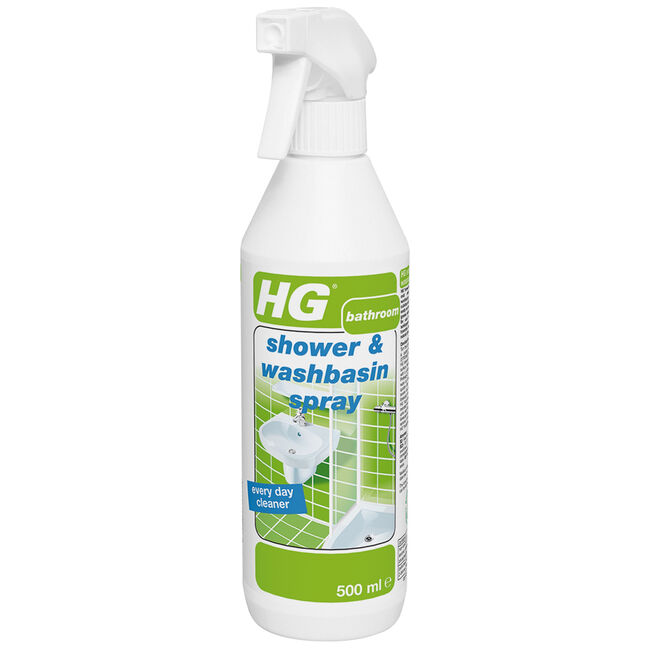 HG Shower and Washbin Spray 500ml