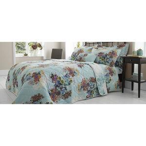 Jacinta Duck Egg 200x220 Bedspread