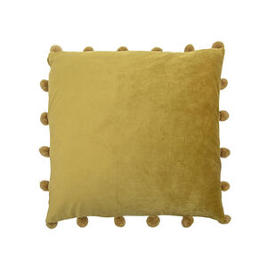 Large Bobble Cushion 45x45cm - Olive Green