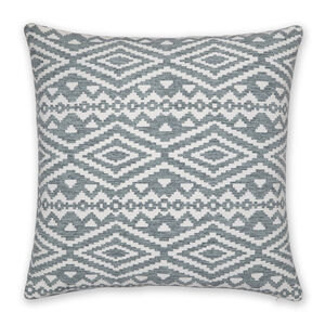 Aztec Cushion 58x58cm - Duck Egg