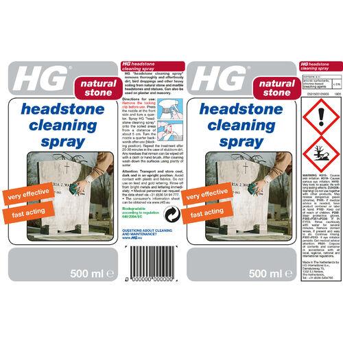HG Headstone Cleaning Spray 500ml