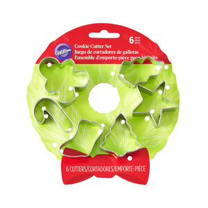 Christmas Wreath Mini Cookie Cutters
