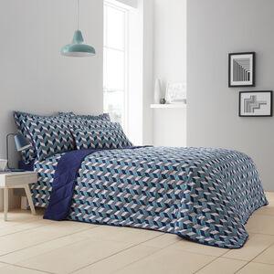 Gavin Teal Bedspread 200x220cm