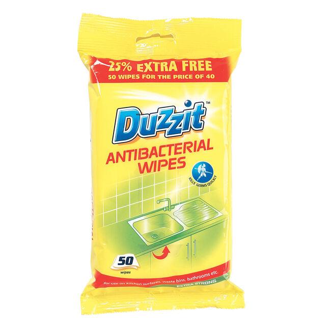 Anti Bacterial Wipes 50 Pack