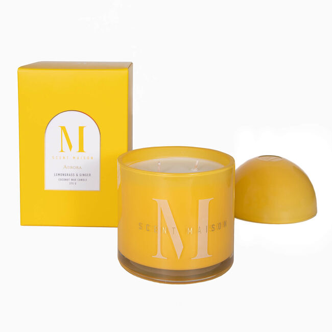 Scent Maison Lemongrass & Ginger Candle