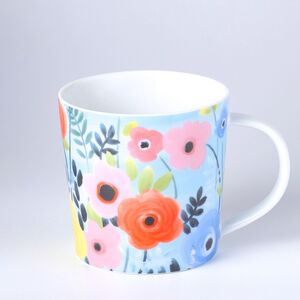 Atelier 75 Blue And White Flower Mug