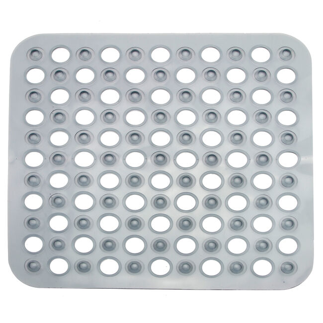 Nicole Day Grey Shower Mat 43cm x 43cm