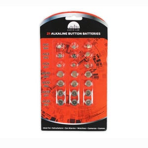 Audio Lab 21 Alkaline Button Cell Batteries