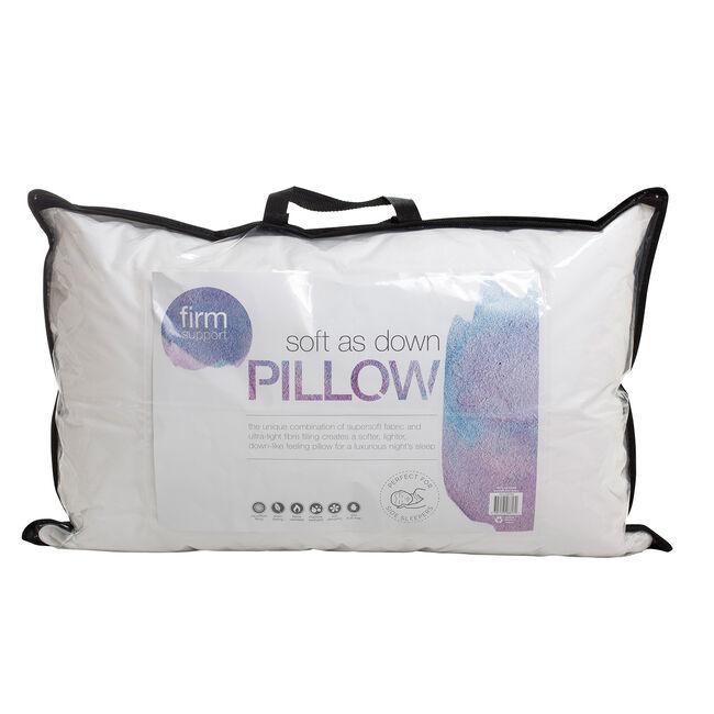 Soft as Down Microfibre Pillow