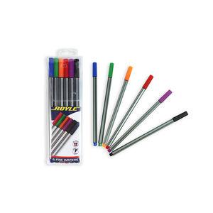 Set of 6 Fine Writer Pens