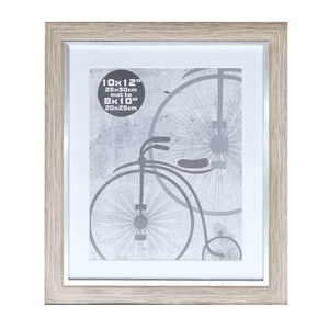 Silver Grey Photo Frame 10x12""