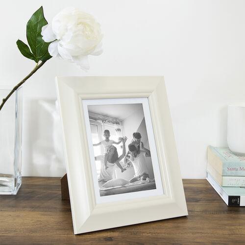 6x8 SIMPLY CREAM Photo Frame