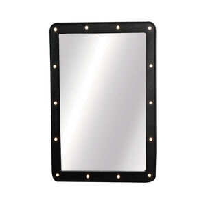 Spotlight Black Mirror 50x70cm w/LED bulbs