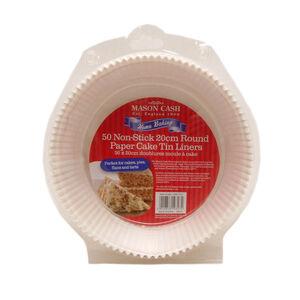 Mason Cash 20cm Cake Tin Liners 50Pk