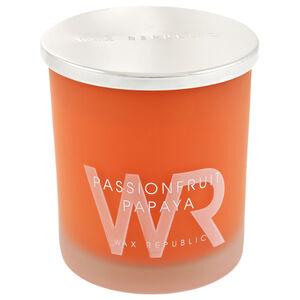 Wax Republic Passionfruit Papaya Candle