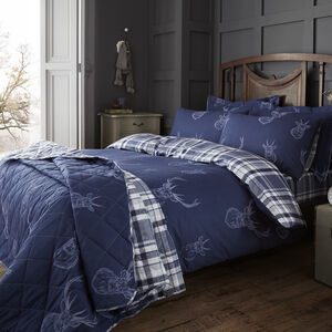 Brushed Cotton Stag Duvet Cover