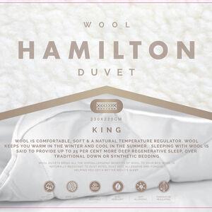 Hamilton Wool Duvet King