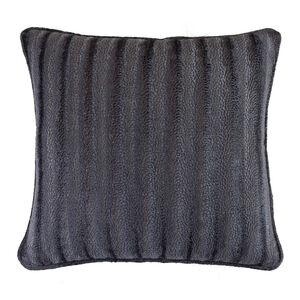 Velvet Embossed Grey 45x45 Cushion