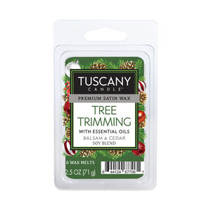 Tuscany Candle Tree Trimming Melt Cube