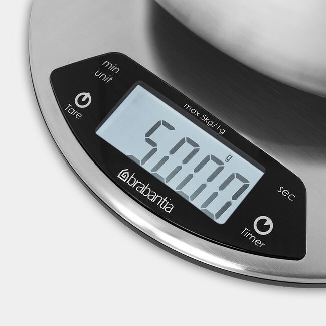 Brabantia Digital Kitchen Scales and Timer