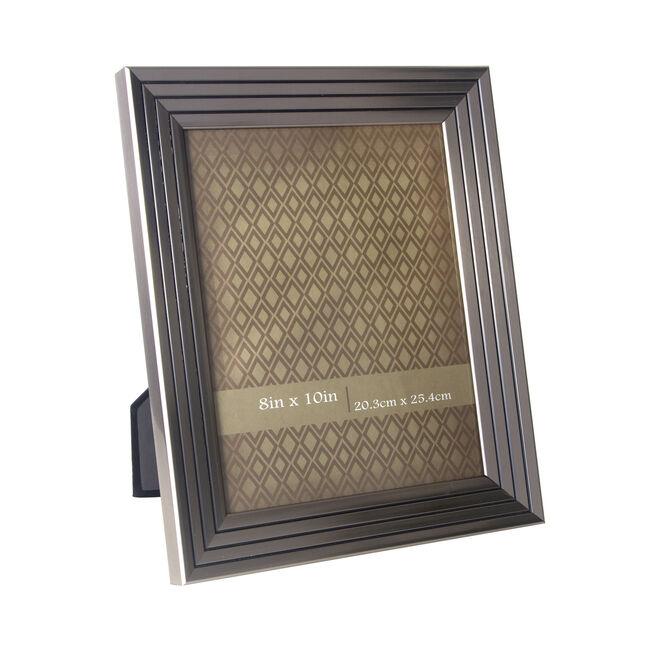 Quattro Strip Silver Photo Frame