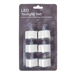 LED Tea Lights - 6 Pack