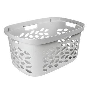 Ezy Storage Fleur Laundry Basket 63L - Clay