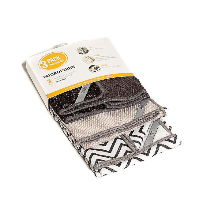 3Pk Microfibre Cloth Set
